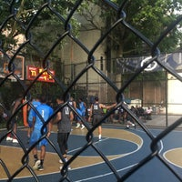 Photo taken at West 4th Street Courts (The Cage) by Kivanç Ö. on 7/21/2017