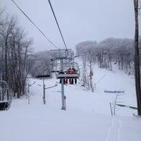 Photo taken at Devil's Head Ski Resort by Ashley P. on 2/10/2013