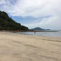Photo taken at Praia das Conchas by Paulo C. on 1/29/2016