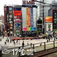 Photo taken at Shimbashi Station by T k. on 4/18/2013