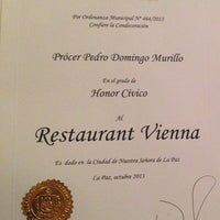 Снимок сделан в Vienna Restaurant пользователем Vienna Restaurant 7/16/2014