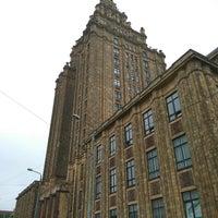Photo taken at Latvijas Zinātņu akadēmija by Fanhead on 7/27/2017