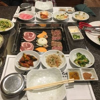 Photo taken at Cho Sun Gal Bi Korean BBQ & Sushi Bar by David O. on 1/8/2017