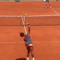 Photo taken at Stade Roland Garros by Jacob U. on 6/2/2013