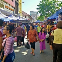 Photo taken at Gaya Street by Monsopiad Y. on 7/17/2016