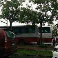 Photo taken at Wawasan Bus Terminal by Monsopiad Y. on 10/24/2016