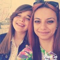 Photo taken at Okul Önü by Hacer S. on 7/17/2014