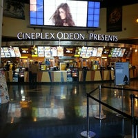 Photo taken at Cineplex Cinemas Queensway & VIP by Joey V. on 3/9/2013