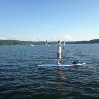 Photo taken at Greenwood Lake Paddleboards by Greenwood Lake Paddleboards on 7/17/2014