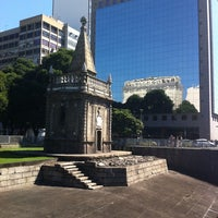 Photo taken at Praça XV de Novembro by Moni A. on 7/15/2013