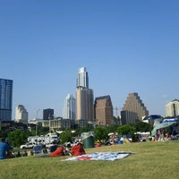 Photo taken at Auditorium Shores at Lady Bird Lake by Nar on 7/4/2013