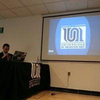 Photo taken at Universidad de Negocios ISEC by Carlos R. on 2/16/2013