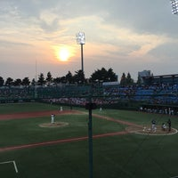 Photo taken at Cheongju Baseball Stadium by Stonian K. on 8/17/2016