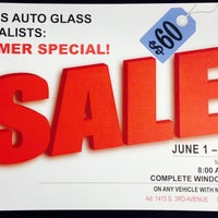 Photo taken at Yuma's Auto Glass Specialist by Yuma's Auto Glass Specialist on 7/17/2014
