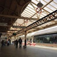 Photo taken at Aberystwyth Railway Station (AYW) by †MuMu I. on 6/1/2013