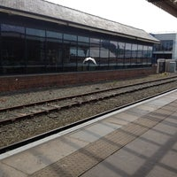 Photo taken at Aberystwyth Railway Station (AYW) by †MuMu I. on 6/5/2013