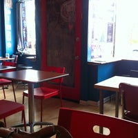5/15/2013 tarihinde Meli M.ziyaretçi tarafından Jackalope Coffee & Tea'de çekilen fotoğraf