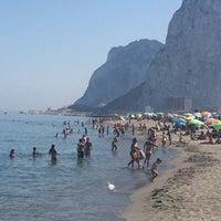 Photo taken at Gibraltar Bay by Emanuel F. on 8/6/2014