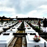 Photo taken at Catholic Cemetery Miri by Cl C. on 11/2/2013