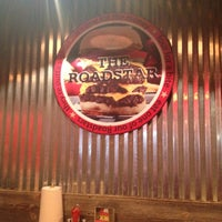 Photo taken at American Roadside Burgers by Cyndee W. on 11/1/2013