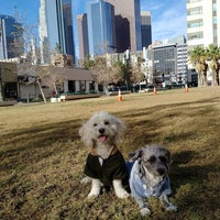 Photo taken at LAPD Lawn Dog Park by Fernando A. on 12/27/2015
