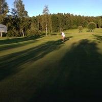 Photo taken at Marks Golfklubb by Janne P. on 6/16/2014