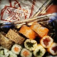 Photo taken at Sushi Zen by Raphael C. on 12/14/2012