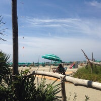Photo taken at Bagno Piero by Elena L. on 8/6/2014