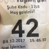 Photo taken at Yapı Kredi İhsaniye by Fatih A. on 12/4/2017
