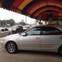 Photo taken at Piyapong Car Center by sasithon C. on 1/26/2014