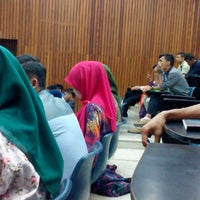 Photo taken at Lecturer Theater 4 (LT4) UiTM Perlis by firdaus s. on 8/4/2014