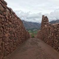 Photo taken at Ruinas Piquillaqtay by Rafael G. on 11/12/2017