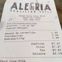 Photo taken at Alegria Brazilian Grill by Rafael G. on 4/5/2015