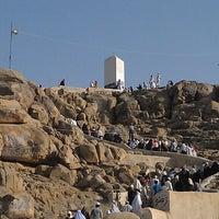 Photo taken at Arafah Mountain by zizie on 4/15/2013