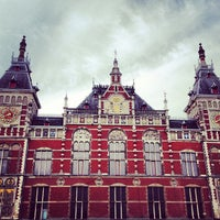 Photo taken at Amsterdam Central Railway Station by Jann E. on 5/12/2013