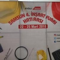 Photo taken at Tüyap Samsun Fuar ve Kongre Merkezi by Kerem K. on 3/23/2018