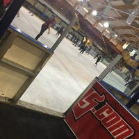 Photo taken at Ice Arena Wales by Seventysix on 7/14/2015
