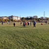 Photo taken at St. John's Soccer Playfield by Dan W. on 10/11/2014