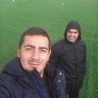 Photo taken at Gürpınar Albay Hayati Evliyaoğlu  Stadyumu by Barış S. on 4/7/2015