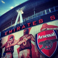 Photo taken at Emirates Stadium by Karl C. on 5/27/2013