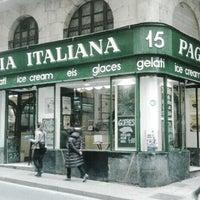 Photo taken at Pagliotta Gelateria Italiana by Muhammad A. on 7/20/2014