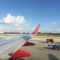 Photo taken at Southwest Airlines Flight 2317 by Tom O. on 3/12/2015