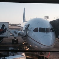 Photo taken at United Dreamliner 787 by Paul K. on 5/16/2015