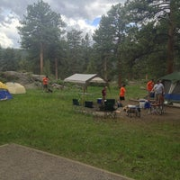 Photo taken at Moraine Park Campground by Paul K. on 6/15/2013