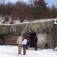Photo taken at Бункер Лінії Арпада / Arpad Line Bunker by Олег Б. on 1/18/2016