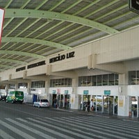 Photo taken at Aeroporto Internacional de Florianópolis / Hercílio Luz (FLN) by Guilherme C. on 4/28/2013