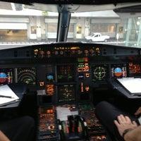 Photo taken at Terminal 2B by Yoshihisa M. on 11/17/2012