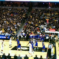 Photo taken at Mizzou Arena by Kol on 2/20/2013