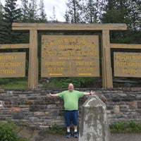 Photo taken at Continental Divide - Alberta/BC Border by Jeff S. on 7/10/2018