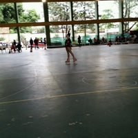 Photo taken at Polideportivo CEP by Daniela L. on 9/4/2016